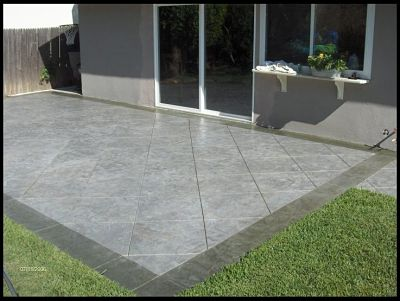 Nice Decorative Concrete Patio Overlay Picture_opt