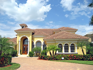 What type of decorative concrete flooring is best stone for Concrete homes florida