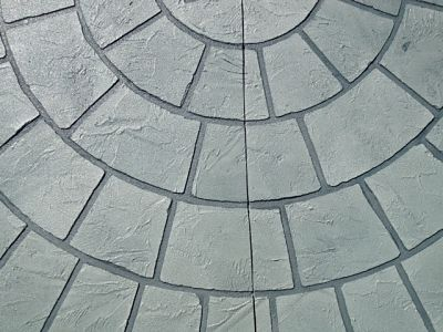 full trowel texture medallion_opt